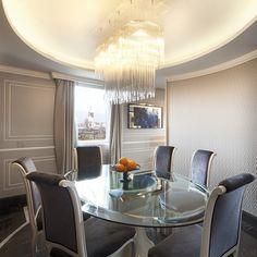 2013-ROMA. E' con piacere che la nostra DIADEMA di Vistosi sia stata scelta per illuminare le living room della suite con attico più esclusiva della capitale presso il lussuoso REGINA Hotel BAGLIONI 5*. Grazie.