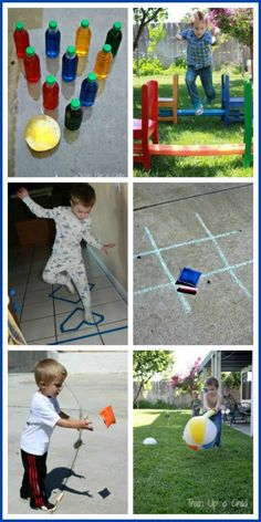 Train Up a Child: Gross Motor Games {100 Days of Play}