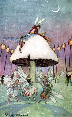 "dance of the fairies ""Fairy Revels"" by Florence Mary Anderson"