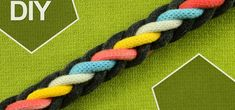 How to Make Round Braid with EIGHT strands. It's easy to make and suitable for kids and beginners projects. This plait can be used for making nice bracelet or shoelaces may also be useful for hairdo. I couldn't find a Video tutorial that was like this in the internet, so this is a exclusive/first one. Hope that you enjoy. Video: . Source: http://www.youtube.com/user/MacrameSchool