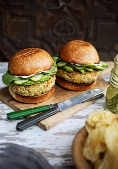 These tuna burgers are easy to make and packed with flavor. Just take out about 10 ounces—enough to make two burgers—and add in the rest. Cook to perfection and enjoy with your plus 1!