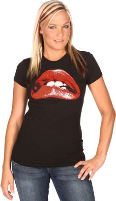 Rocky Horror Picture Show Juniors - Lips Black