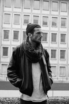 fall fashion #men #hot #leather