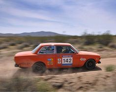 Jim & Michael Robison in 142 at High Desert Trails Rally.
