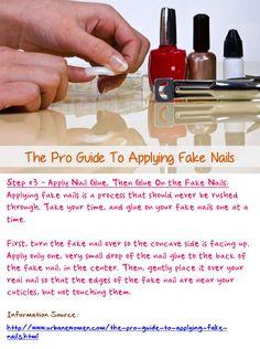 how to make real nails look fake