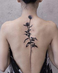 #tattoos chinese ink painting instagram:newtattoo陈洁