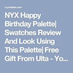 876a4d1a40e 30 Best nyx birthday images