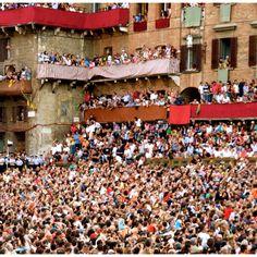 spectators. Il palio, Siena