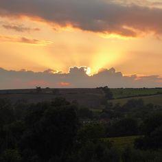 Sunset over #Rutland @alittlebitofrough