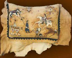 Hand Painted Deerskin Pillow From Thezonacollection.com. Western  DecorWestern StyleRustic DecorAmerican ArtAmerican IndiansNative ...