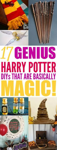 Harry Potter is a beloved story that continues to gain fans! I am so excited to throw a Harry Potter party! These DIY party ideas are brilliant! I didn't realize how you can make cheap and easy DIY party decorations for a Harry Potter theme. Baby Harry Potter, Baby Shower Harry Potter, Harry Potter Motto Party, Harry Potter Fiesta, Classe Harry Potter, Harry Potter Thema, Cumpleaños Harry Potter, Harry Potter Classroom, Harry Potter Bedroom