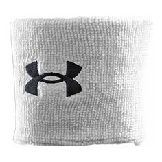87d512b4a7a Under Armour UA Performance Wristband One Size Fits All White