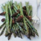 Try the Roasted Asparagus and Morels with Shallot Butter Recipe on williams-sonoma.com/