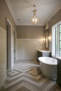 Limestone Chenille White Tiles and Silver Screen Marble Floor Tiles although I would put in another sink