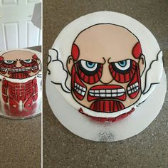 Attack on Titan cake by Jen May Cakes! Awesome!