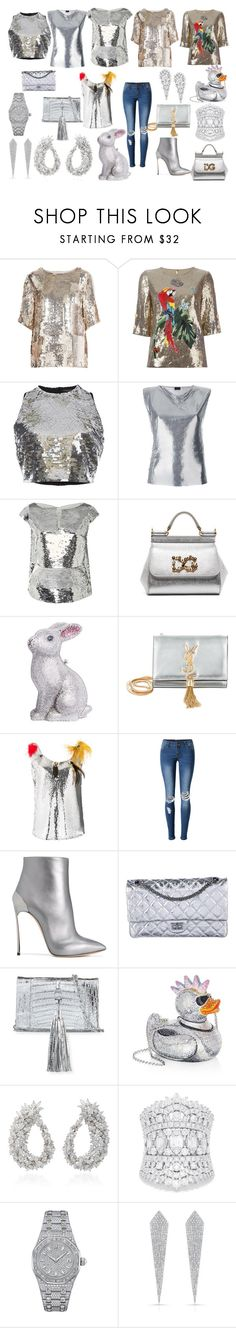 """"""")))"""" by polyvorepolyvore2018 ❤ liked on Polyvore featuring Chloé, Dolce&Gabbana, Versace, Paco Rabanne, Oscar de la Renta, Judith Leiber, Yves Saint Laurent, Sonia Rykiel, WithChic and Casadei"""