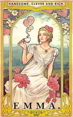 Jane Austen Movies, Emma Jane Austen, Book Cover Art, Book Art, Emma Movie, Rennaissance Art, Emma Woodhouse, Pride And Prejudice Book, Anya Taylor Joy