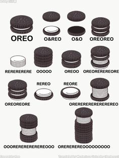 Just in case you were wondering what your style of Oreo is called. – Just in case you were wondering what your style of Oreo is called. Crazy Funny Memes, Really Funny Memes, Funny Pins, Stupid Funny Memes, Wtf Funny, Funny Relatable Memes, Funny Cute, Oreo Funny, Funny Stuff