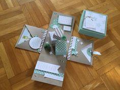 Ideenreichtum, Stampin Up, Verpackung, Baby                                                                                                                                                      Mehr