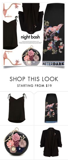 """""""After dark style"""" by alaria ❤ liked on Polyvore featuring River Island, Louis Vuitton, WithChic, Dune and afterdark"""