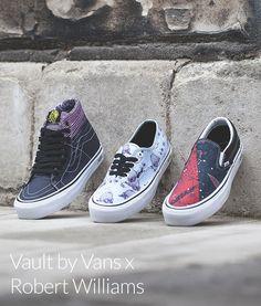 Vault by Vans x Robert Williams