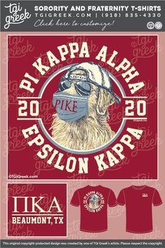 Sorority Pr, Sorority Outfits, Sorority Shirts, Alpha Shirt, Pi Kappa Alpha, Fraternity Rush Shirts, Sorority And Fraternity, Delta Chi, Custom Screen Printing