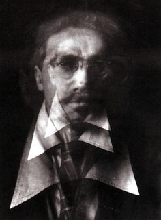 Alvin Langdon Coburn: Portrait of Ezra Pound