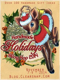 Day 2 of the Handmade Holidays Blog Hop - be inspired and have the chance to win too