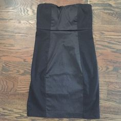 New strapless dress Black strapless dress. Not worn(I can use Merc app) Forever 21 Dresses Strapless