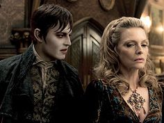 Dark Shadows is coming out in May. I watched the original soap opera when I was growing up in the freaky 60s.