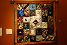 COLOURS AND FABRICS: Old books, crazy and Baltimore album quilts, part 2 USA