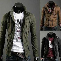 Men Slim Fit Premium Jumper Jacket