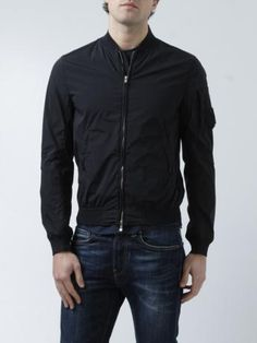 dfea879537c C.P. Company-bomber in nylon stretch-stretch nylon bomber jacket-shop  online E