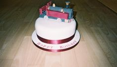 Replica Train Birthday Cake