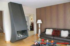 Cheminée moderne pour réchauffer ce vaste séjour #cheminee #chemineemoderne #chemineemetal www.partenaire-europeen.fr/Annonces-Immobilieres/France/Rhone-Alpes/Haute-Savoie/Vente-Maison-Villa-F6-NEUVECELLE-818432
