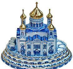 Gzhel,las famosas cerámicas rusas