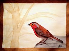 My bird painting
