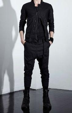 """ Alexandre Plokhov - S/S 2015 "" Unisex Fashion, Mens Fashion, Fashion Outfits, Modern Assassin, Stylish Men, Men Casual, Tokyo Street Style, Cyberpunk Fashion, Men Style Tips"