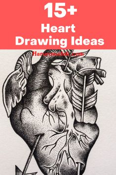 Some simple things may not be so easy to draw. If you need to draw a heart you can get heart drawing ideas in here.