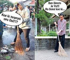 Bu risma keren... Jokowi ???? Hadehhh acting aja lu