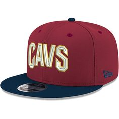 various colors 4af85 497f9 Men s Cleveland Cavaliers New Era Wine Navy Two-Tone 9FIFTY Adjustable Hat,  Your Price   27.99