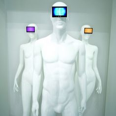 The Emotion collection from Window Mannequins is a unique line of mannequins and forms accompanied by video screens. By playing promotional videos, they allow customers to modify the ambience of window displays. www.goldsmith-inc.com