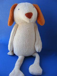 Dalton the Dog Softie Pattern – Shiny Happy World