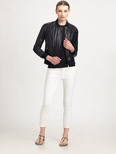 Like this Tory Burch Leather Jacket...