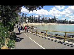 Virtual Treadmill Walk - Manly Beach to Shelly Beach and Corso, Sydney Australia Virtual Run, Virtual Field Trips, Virtual Travel, Physical Activities, Dementia Activities, Motor Activities, Best Treadmill Workout, Walking Videos, Relaxing Rain Sounds