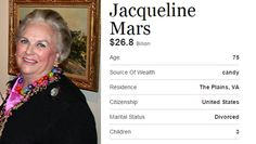 Jacqueline-Mars --- The Richest Person In Every State