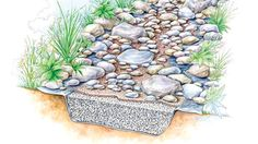 A dry streambed can solve drainage issues while beautifying your landscape.