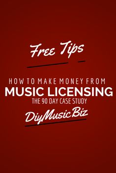 #musiclicensing tips for the indie musician, producer, artists and singer songwriter