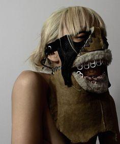 04 Shin Murayama - The Beast Within Headdress, Headpiece, Michel De Montaigne, Himiko Toga, The Beast, Masks Art, Fashion Mask, Art Plastique, Headgear