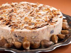 Ha karácsony, akkor gesztenye, ha gesztenye, akkor süti, ha süti, akkor nem akarunk vele sokat vesződni, de legyen látványos és finom. Tádám! Cheesecake, Paleo Brownies, Different Recipes, Camembert Cheese, Banana Bread, Nutella, Bakery, Food And Drink, Pudding